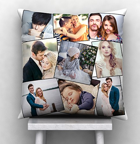 Personalized Cushion with 9 Photos